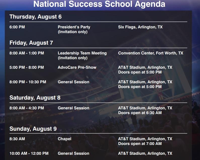 AdvoCareSuccessSchoolSchedule