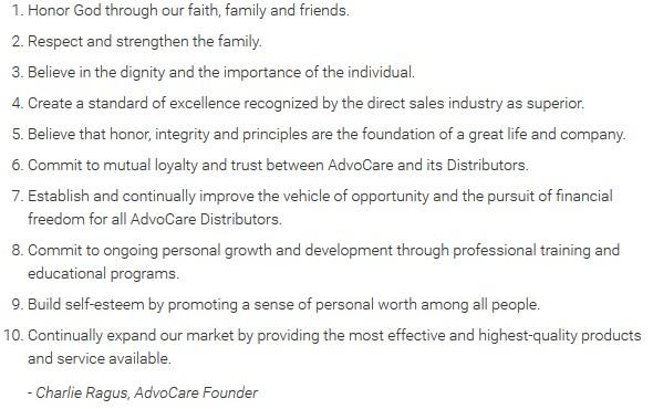 advocare10principles